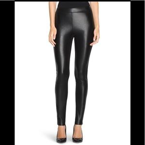 WHBM Faux Leather 'The Legging' Pant